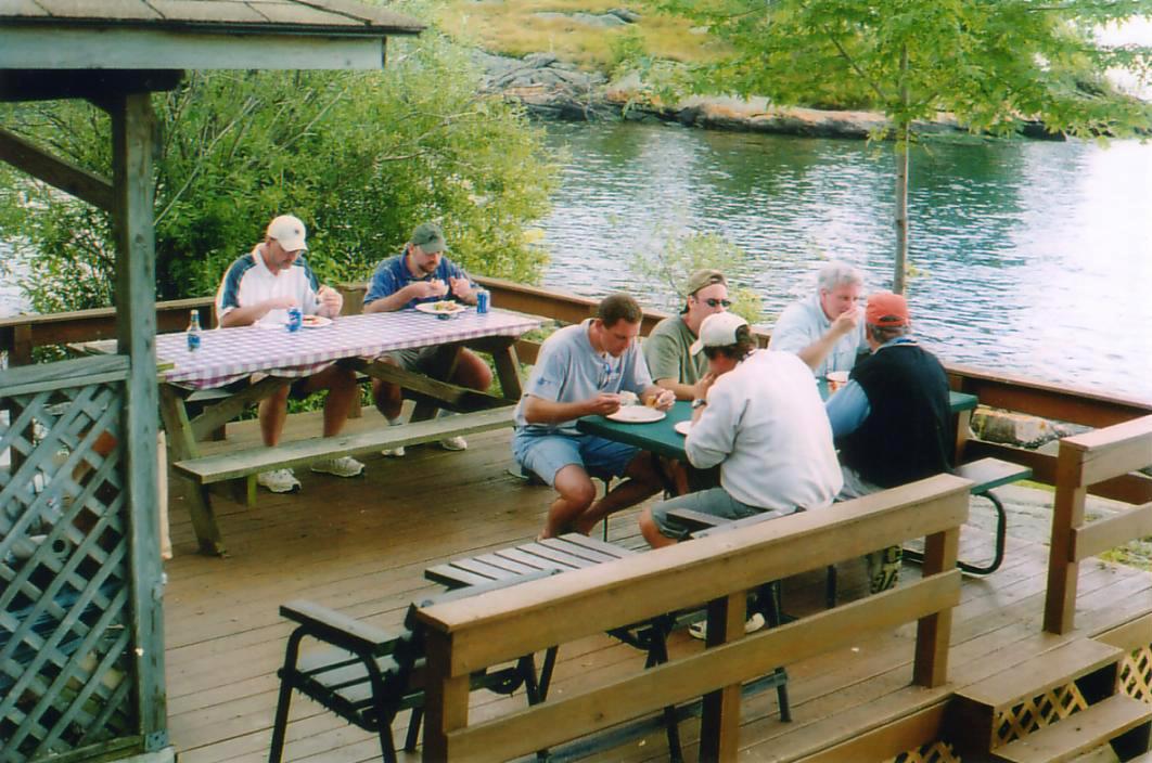Thousand Islands - Alexandria Bay NY Shore Dinner - Fishing Charter